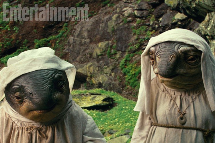 Ahch-To caretakers from The Last Jedi.